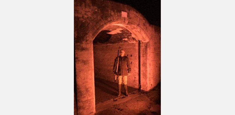 Inside Fort Lytton