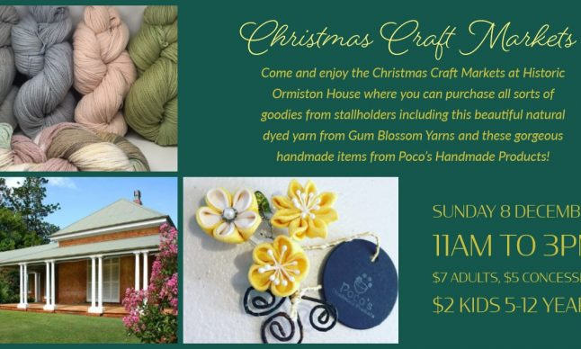 Ormiston House Christmas Craft Fair